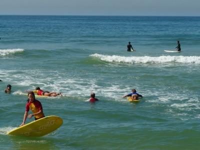 10 Tage Südosten, Brasilien, Der Barra ist ein sehr beliebter Strand für Surfer. Falls du selbst L