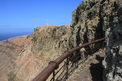 Eine Woche Lanzarote, Spanien, Der Mirador del Río ist ein von César Manrique gestalteter Aussichts