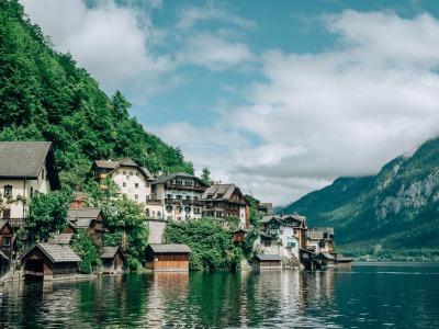 Kurztrip Hallstatt (Stadt), Oberösterreich, Österreich, Ein kleines Paradies