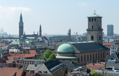 Kurzurlaub Kopenhagen, Dänemark, Ein toller Blick belohnt für den Aufstieg auf den 35 Meter hohen Turm