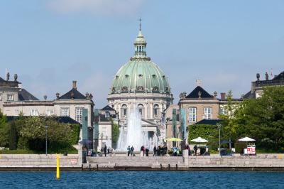 Kurztrip Kopenhagen, Dänemark, Zu den Highlights am Wasser gehören auch der Amalienborg Plads und di