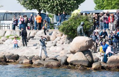 """Kurztrip Kopenhagen, Dänemark, Die umlagerte Dame kennst Du ganz bestimmt: Die """"Kleine Meerjungfrau"""""""