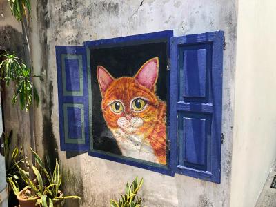 Eine Woche Penang, Malaysia, Streetart
