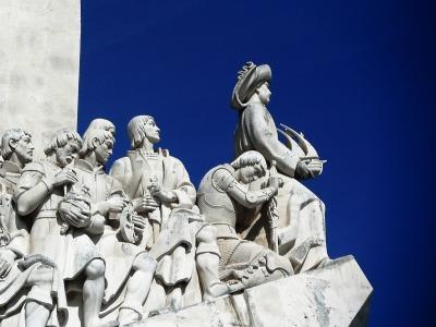 Kurztrip Region Lissabon und Setúbal, Portugal, Das Denkmal der Entdeckungen steht seit 1960 im Stadtteil Belém am Uf
