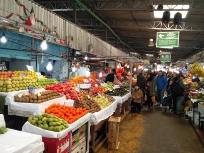 Langzeiturlaub Santiago de Chile & Umgebung, Chile, Der Markt La Vega Central ist ein MUSS, wenn du in Santiago de Chile b