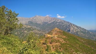 10 Tage Korsika, Frankreich, Das Capo Rosso ist eine Halbinsel im Westen Korsikas. Die circa 330 Me