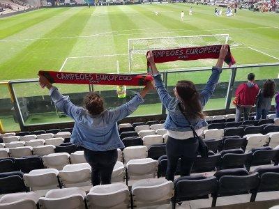 2 Wochen Portugal, Portugal, Freundschaftsspiel der Portugiesischen Nationalmannschaft gesehen für