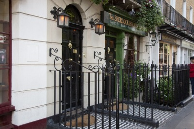 Kurztrip London & Umgebung, Großbritannien, Baker Street 221B. Hier lebte der berühmte Detektiv Sherlock Holmes-