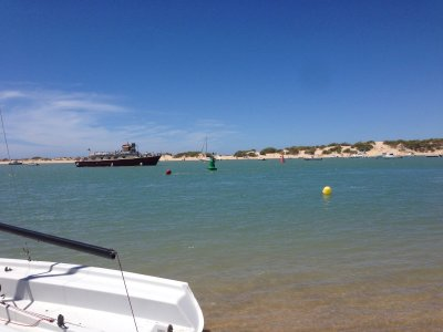 2 Wochen Costa de la Luz, Spanien, Strand von Sancti Petri