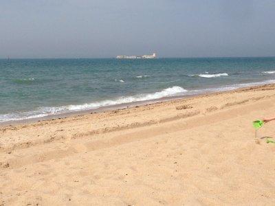 2 Wochen Costa de la Luz, Spanien, Leerer Strand im August