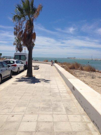 2 Wochen Costa de la Luz, Spanien, Promenade von Sancti Petri