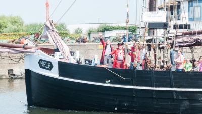 Eine Woche Belgien, Belgien, Die Piraten in Ostende sind harmlos. ;-)