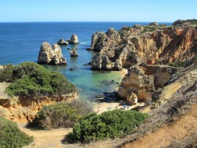 Kurzurlaub Algarve, Portugal, Die Algarve ist die südlichste Region Portugals am Mittelmeer. Sie is