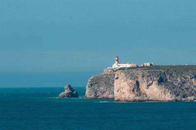 Kurztrip Algarve, Portugal, Das Kap Sankt Vincent bildet die Südwestspitze und gleichzeitig den E