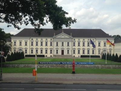 Kurztrip Berlin, Deutschland, Schloss Bellevue