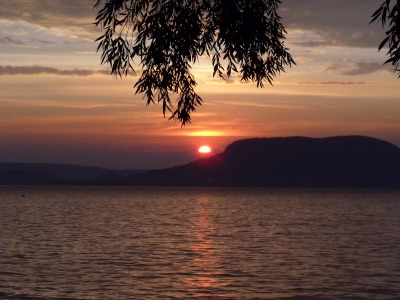 Eine Woche Balaton (Plattensee), Ungarn, Badacsony Tomaj ist der Tafelberg am westlichen Nordostufer. Hier kann