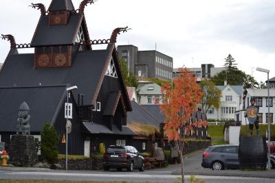 Eine Woche Island, Island, Wikinger-Hotel.