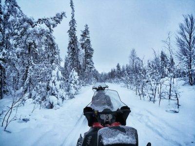 Kurztrip Lappland, Finnland, Savukoski