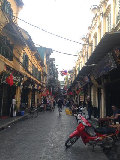 2 Wochen Vietnam, Vietnam, Hanoi bietet ein buntes Gemisch aus Straßenverkäufen, Sehenswürdigk
