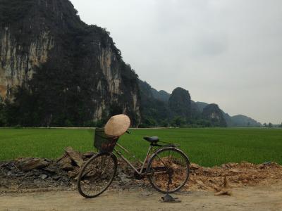 """2 Wochen Vietnam, Vietnam, In der Provinz Ninh Binh kann man die """"trockene Ha Long Bay"""" besuchen,"""