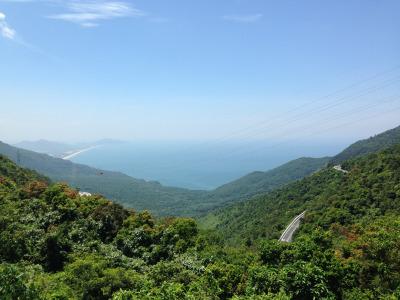Zwei Wochen Vietnam, Vietnam, Um von Hue nach Hoi An zu gelangen sollte der längere Weg über den W