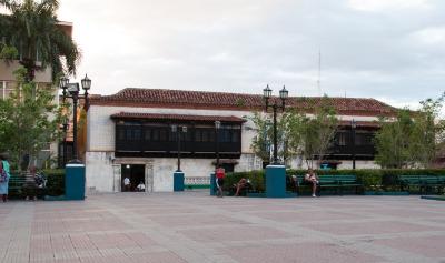 Kurztrip Karibische Küste / Süden, Kuba, Ein weiteres geschichtsträchtiges Gebäude am Platz ist die Casa Dieg