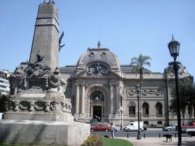Kurzurlaub Santiago de Chile & Umgebung, Chile, Santiago ist eine Stadt der Museen. Hier eines der schönsten, das Mus