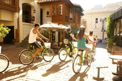 Kurztrip Santiago de Chile & Umgebung, Chile, Barrio Lastarria ist das Ausgehviertel der Stadt mit den besten Restau