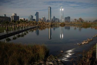 Kurztrip Santiago de Chile & Umgebung, Chile, Radfahren, Tretboot fahren, Joggen, faulenzen. Santiagos Parks bieten