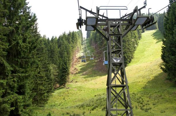 Kurzurlaub Oberammergau (Stadt), Bayern, Deutschland, Eine andere Möglichkeit zu entspannen ist die Fahrt mit der Hörnle S