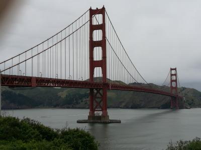2 Wochen Kalifornien, USA, Golden Gate Bridge