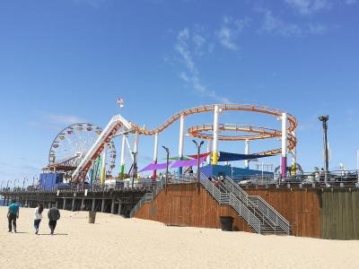 2 Wochen Kalifornien, USA, Santa Monica