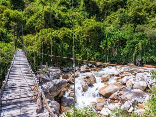 Langzeiturlaub Bolivien, Bolivien, Nur 40 Kilometer westlich von Santa Cruz, in den Andenausläufern, ers