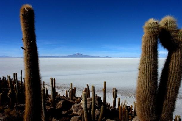 Langzeiturlaub Bolivien, Bolivien, Der Salar de Uyuni im Süden Boliviens ist die größte Salzfläche de