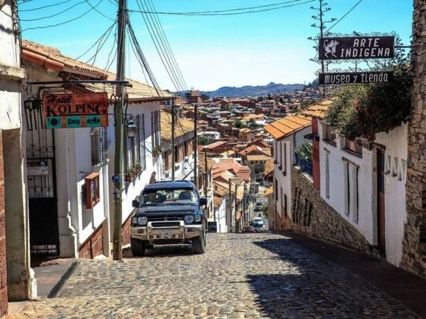 Langzeiturlaub Bolivien, Bolivien, Sucre Stadtkern
