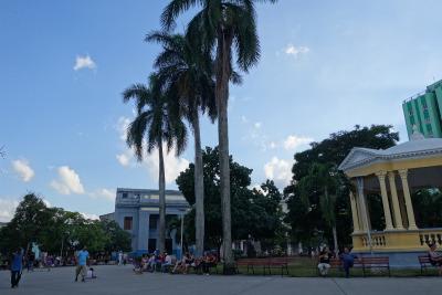 2 Wochen Kuba, Kuba,  In Stadtzentrum befindet sich der Parque Vidal – ein typisch kubani