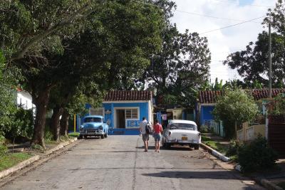 2 Wochen Kuba, Kuba, Der kleine Ort Viñales ist gemütlich und überschaubar. Mit dem Fahr