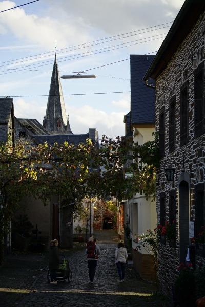 Kurzurlaub Mesenich (Stadt), Rheinland-Pfalz, Deutschland, Mesenich bei Abend