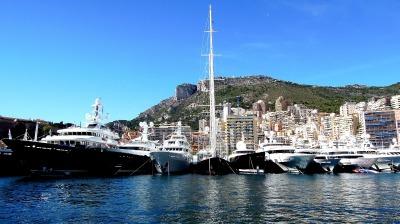 Langzeiturlaub Côte d'Azur, Frankreich, In Monaco hast du eine riesige Auswahl an Stränden. Außerdem kannst