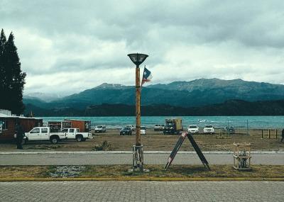 Zwei Wochen Patagonien, Chile, Blick auf den Lago General Carrera von Puerto Tranquilo aus