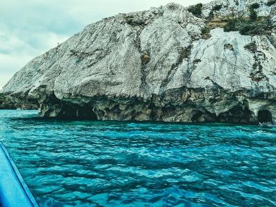Zwei Wochen Patagonien, Chile, Marmorhöhlen im Lago General Carrera