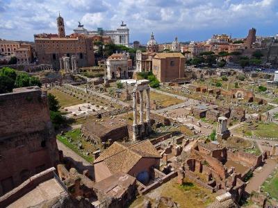 Kurztrip Latium, Italien, Das Forum Romanum war der Mittelpunkt aller politischer, religiöser,