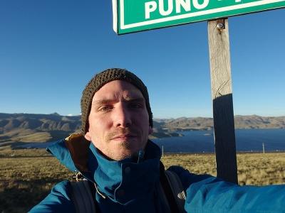 Zwei Wochen Peru, Peru, Dies ist eine der höchstgelegenen Lagunen:  Laguna Lagunillas liegt a