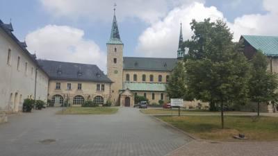 Kurztrip Bad Sachsa (Stadt), Harz, Deutschland, Benedektinerkloster im Huy