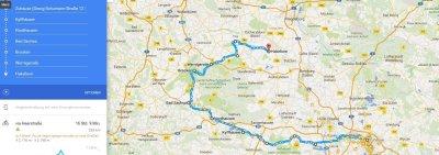 Kurztrip Bad Sachsa (Stadt), Harz, Deutschland, Tour Kartentechnisch =)