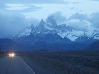 10 Tage Patagonien, Chile, Anfahrt zur Fitz Roy traverse