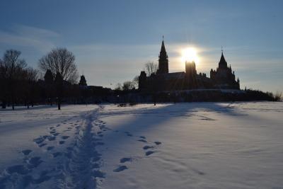 10 Tage Quebec, Kanada, Ottawa... und Schnee, soweit das Auge reicht :)
