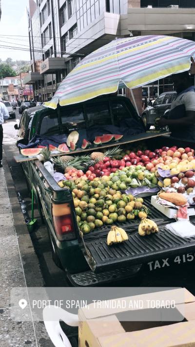 Drei Wochen Tobago, Trinidad und Tobago, Die Stadt lohnt sich für einen Tag, mehr Zeit braucht man hier nicht