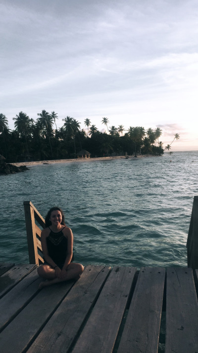 3 Wochen Tobago, Trinidad und Tobago, Der beste Spot für einen traumhaften Sonnenuntergang