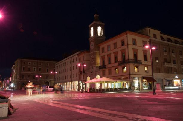 Kurzurlaub Rimini (Stadt), Adria, Italien, Am frühen Abend geht's dann wieder zurück nach Rimini.